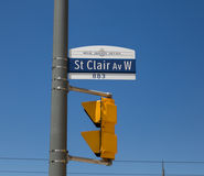 Queens Quay West in Toronto Stock Images