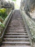 Queens schody Nassau Bahamas obrazy stock