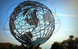 Queens Unisphere Nowy Jork zdjęcia royalty free