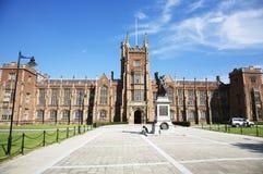 Queens Universitair Belfast Stock Afbeelding