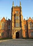 Queens university Belfast front entrance 1. The entrance to Queens university Belfast Royalty Free Stock Photo