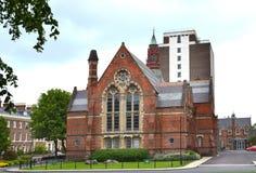Queens University, Belfast. BELFAST, NORTHERN IRELAND - MAY 21, 2011: Queens University. The university was chartered in 1845, and opened in 1849 as Queen`s Stock Images