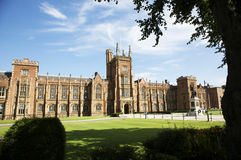 Queens University Belfast royalty free stock photos