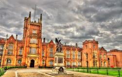 Queen's University War Memorial - Belfast Stock Photos