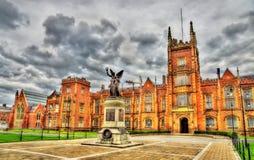 Queen's University War Memorial - Belfast Stock Images