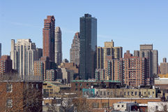 Queens View of Manhattan Royalty Free Stock Photo