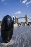 The Queens Walk in London Stock Image
