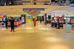 Queens way shopping mall, hong kong Stock Photo