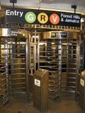 Queens wejście dla staci metru Fotografia Stock