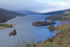 Queens widok, Szkocja Obrazy Stock
