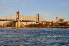 Queensboro Brücke stockbild