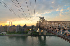 Queensboro Bridge Royalty Free Stock Photography