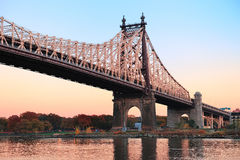 Queensboro Bridge Stock Photography