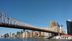 Queensboro Bridge, Ed Koch Queensboro Bridge, NYC, NY, USA Stockbilder