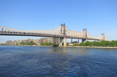 Queensboro Bridge in New York City Stock Photos
