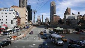 Queensboro Bridge Manhattan. New York on a sunny day stock video