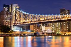 Queensboro Bridge Royalty Free Stock Images