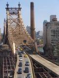 Queensboro Bridge in New York City Royalty Free Stock Photo