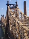 Queensboro Bridge in New York City Royalty Free Stock Image