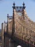 Queensboro Bridge in New York City Royalty Free Stock Photos