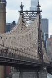 Queensboro Bridge in New York City Stock Photo