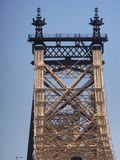 Queensboro Bridge in New York City Royalty Free Stock Images