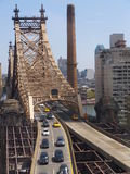 Queensboro Bridge in New York City Royalty Free Stock Photo