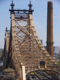 Queensboro Bridge in New York City Stock Image