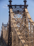 Queensboro Bridge in New York City Royalty Free Stock Photography