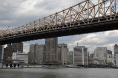 Queensboro Bridge in New York City Royalty Free Stock Photos