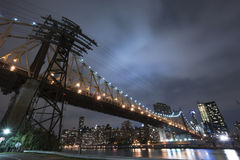 Queensboro Bridge New York City Royalty Free Stock Photos