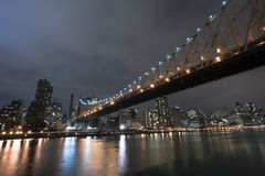 Queensboro Bridge New York City Royalty Free Stock Photography