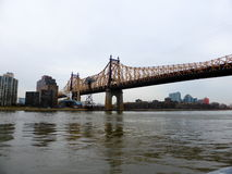 Queensboro Bridge New York City Royalty Free Stock Photos