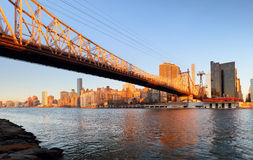 Queensboro bridge - Uptown, New York City Royalty Free Stock Photography