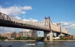 Queensboro Bridge Stock Image