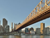 Queensboro Bridge. Royalty Free Stock Photos