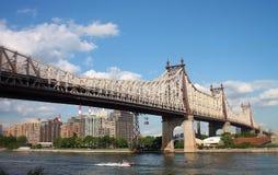 Queensboro bro Fotografering för Bildbyråer