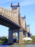 Queensboro/cinquante-neuvième pont en rue, New York Photos stock