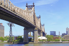 Queensboro/59. Straßen-Brücke, New York Stockbild