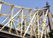 Queensboro/59th gatabro, New York Royaltyfri Fotografi