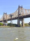Queensboro/59th ponte da rua, New York Imagem de Stock Royalty Free