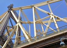 Queensboro/59th ponte da rua, New York Fotografia de Stock