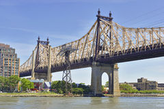 Queensboro/59th ponte da rua, New York Imagem de Stock