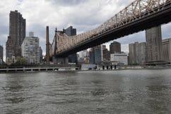 queensboro york города моста новое Стоковое фото RF
