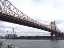 Queensborough bro royaltyfria bilder