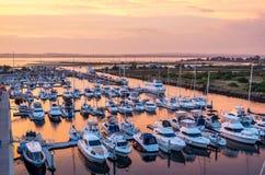 Queenscliff Harbour in Australia Stock Photo