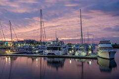 Queenscliff Harbour in Australia Stock Photography