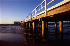 Queenscliff Pier Stockfotos
