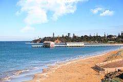 Queenscliff pier, Australia Stock Photos