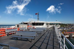 Queenscliff Sorrento Ferry. The ferry which travels between Sorrento and Queenscliff, Victoria, Australia stock photo